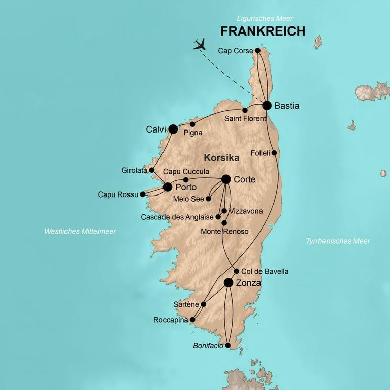 Frankreich: Korsika – Traumhafte Gipfel, charmante Dörfer