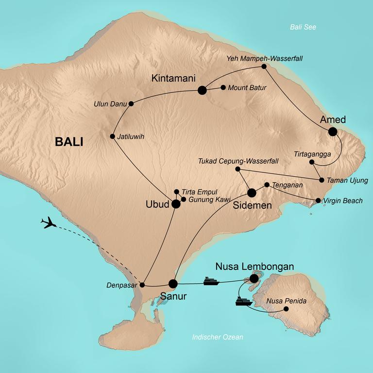Indonesien: Bali – Balis schönste Seite