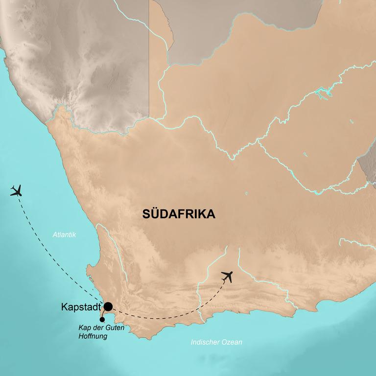 Namibia mit dem Fahrrad (mit Verlängerung Kapstadt) – Auf dem Bike durch die Savanne