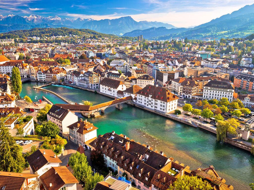 Reisebeginn in Luzern: individuelle Anreise