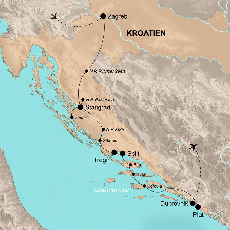Kroatien – Perle der Adria