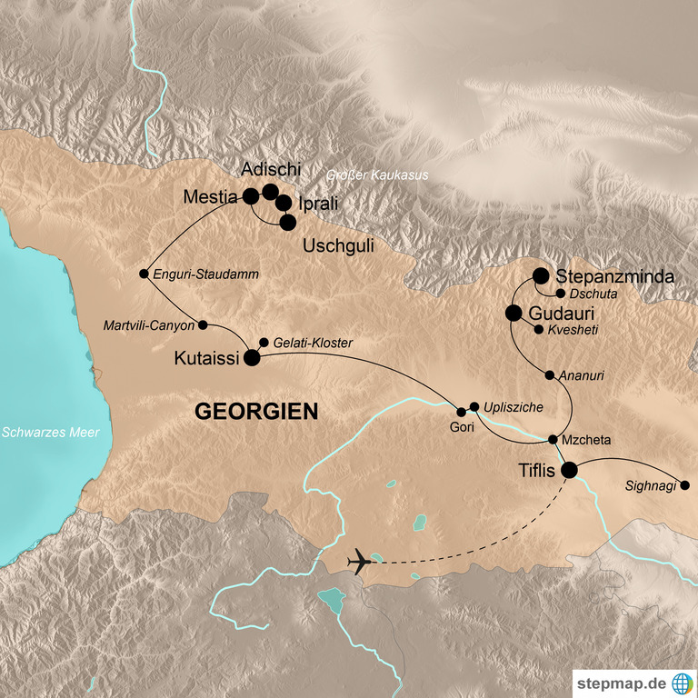 Georgien – Vielseitiges Wanderparadies