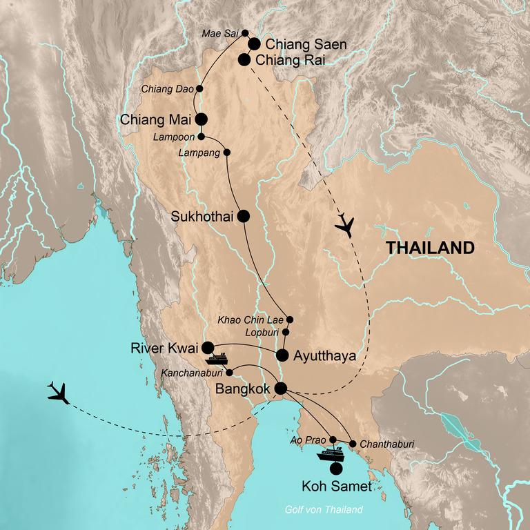 Thailand  – Buntes Königreich