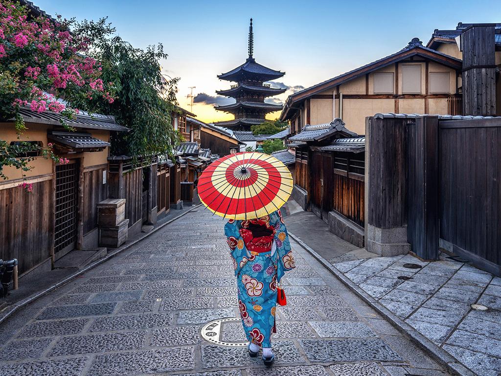 Kyoto: frei für eigene Entdeckungen, optionaler Ausflug nach Nara