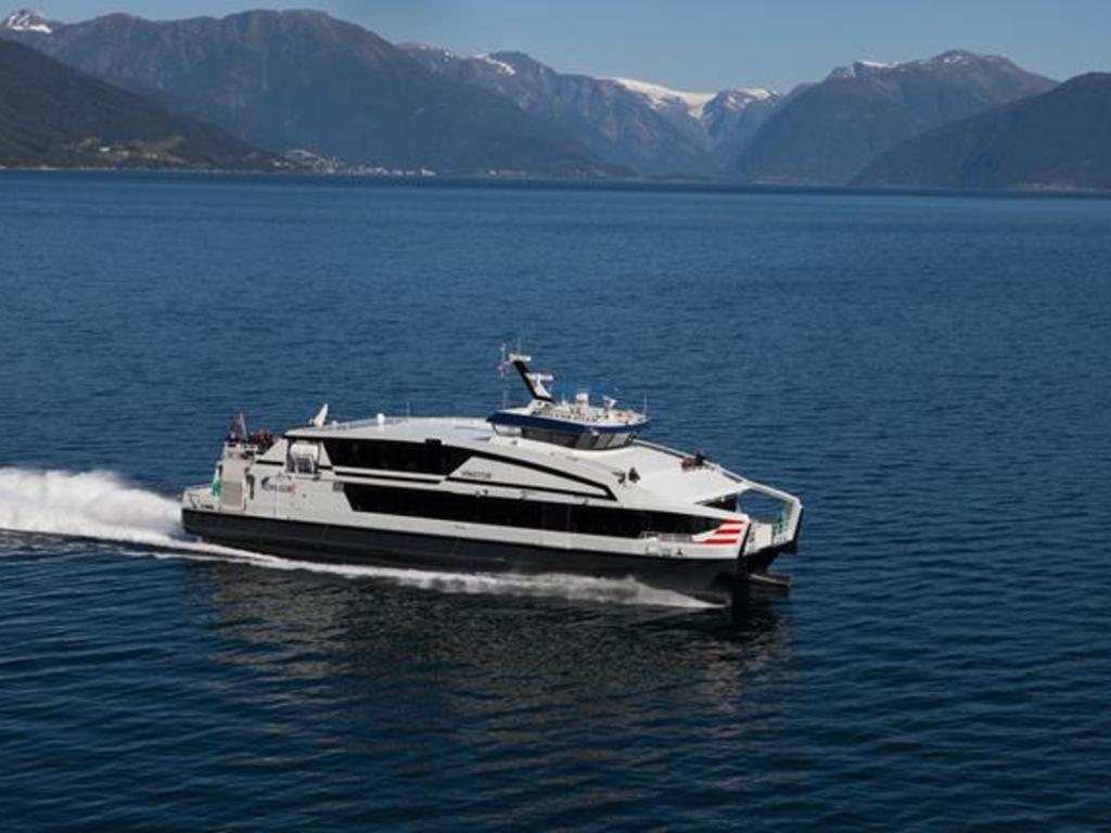 Schifffahrt in Norwegen.