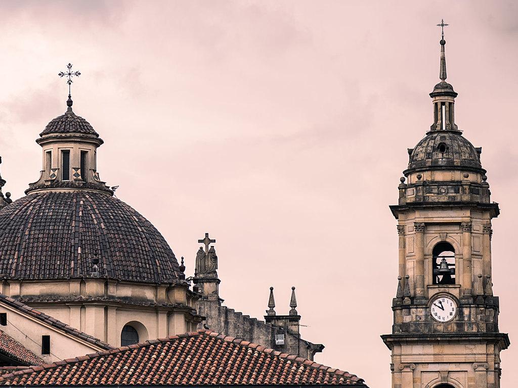 Bogotá : mit dem Rad zum Wochenmarkt in Usaquen, Besichtigung Altstadt mit Goldmuseum und Plaza Bolivar