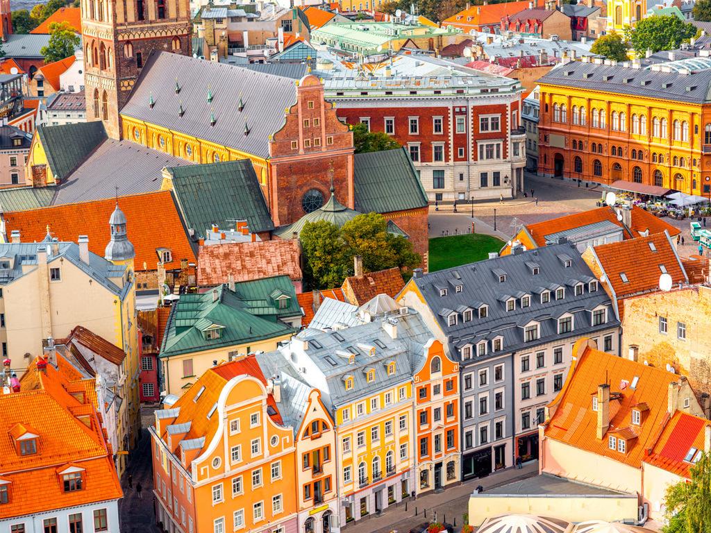 Vilnius: Stadtbesichtigung, Nachmittag frei