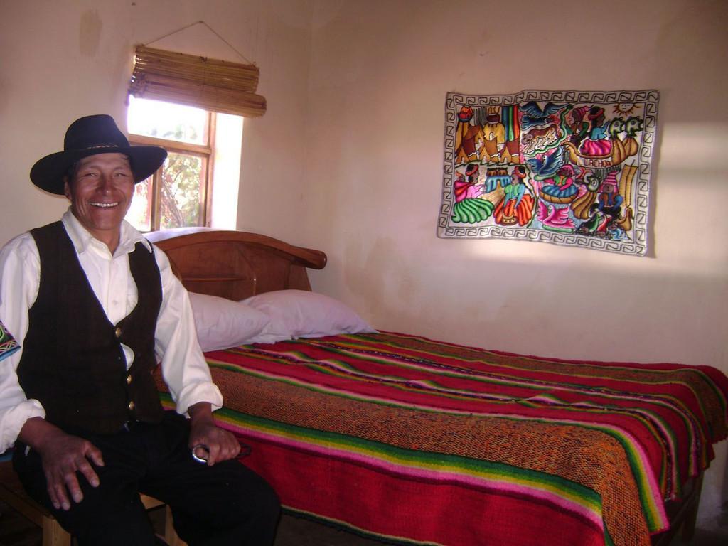 Indígena-Familie in Capachica