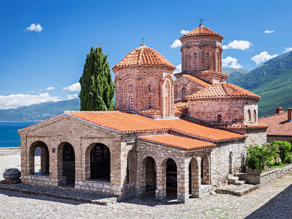 Tushemisht – Sveti Naum-Kloster – Galičica N.P. – Ohrid – Tushemisht: Besuch des Sveti Naum-Klosters, wandern im Galičica-N.P., Stadtführung Ohrid