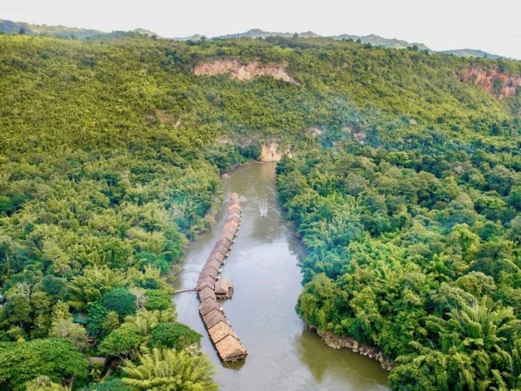 River Kwai Jungle Raft *** in River Kwai
