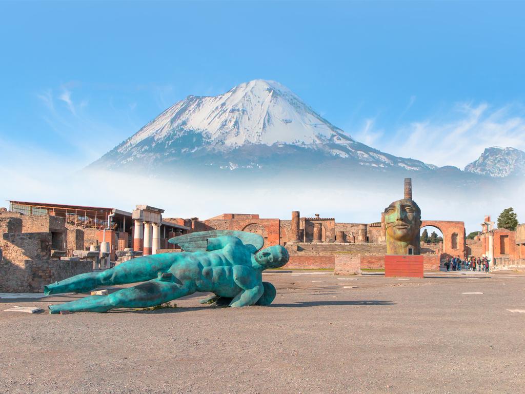 Ausflug nach Pompeji und zum Vesuv: Besichtigung der Ausgrabungsstätte, Spaziergang am Kraterrand des Vesuvs