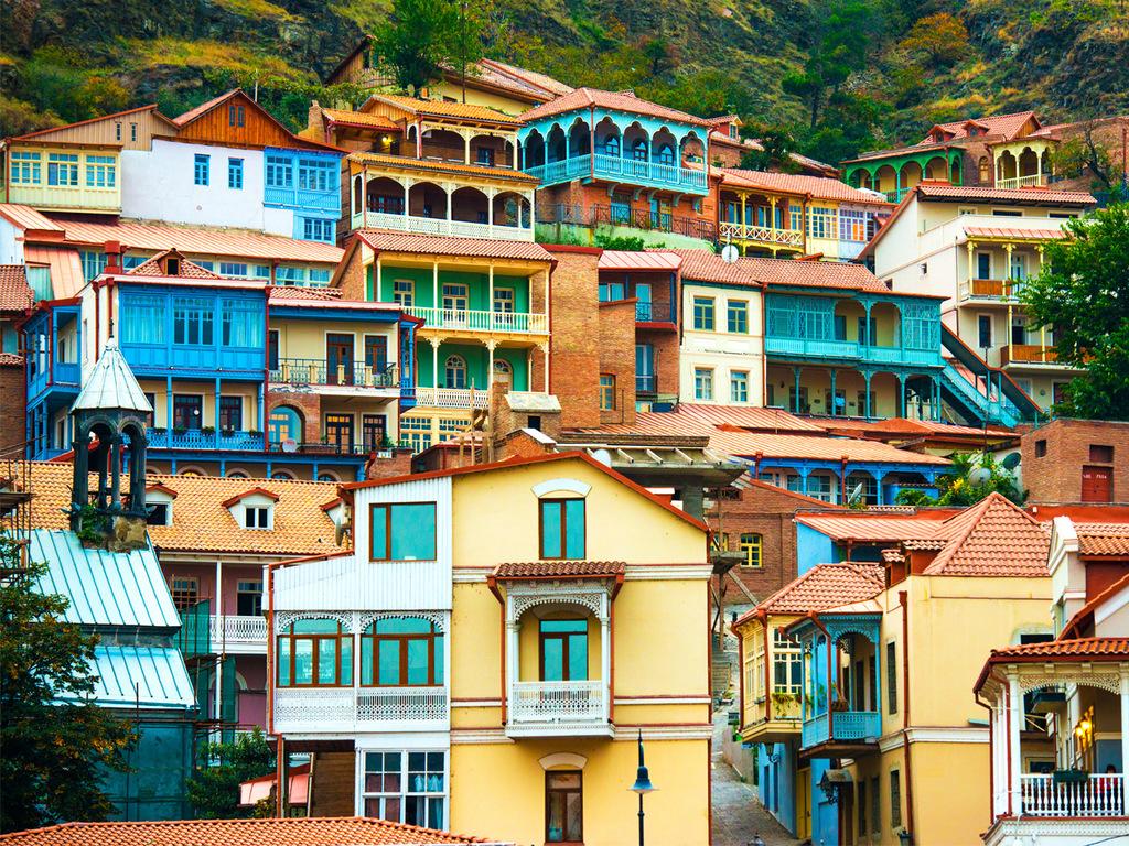 Stepanzminda – Mzcheta – Tiflis : ehemalige Hauptstadt Mzcheta, Freizeit in Tiflis am Nachmittag