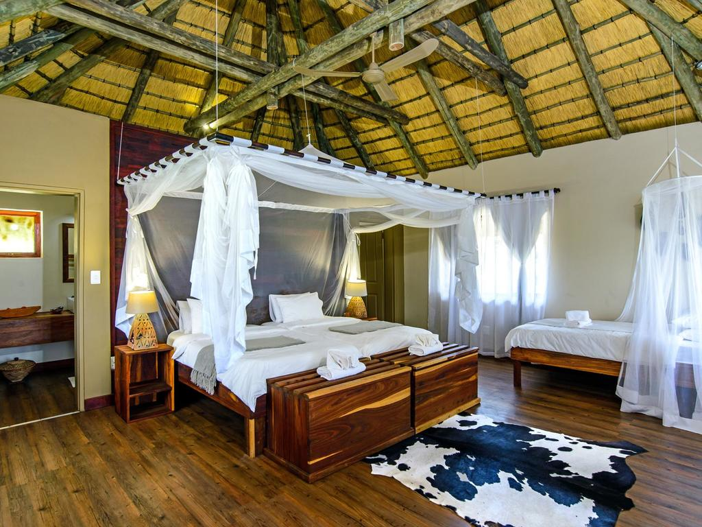 Hakusembe River Lodge ***(*)  am Okavango-Fluss bei Rundu