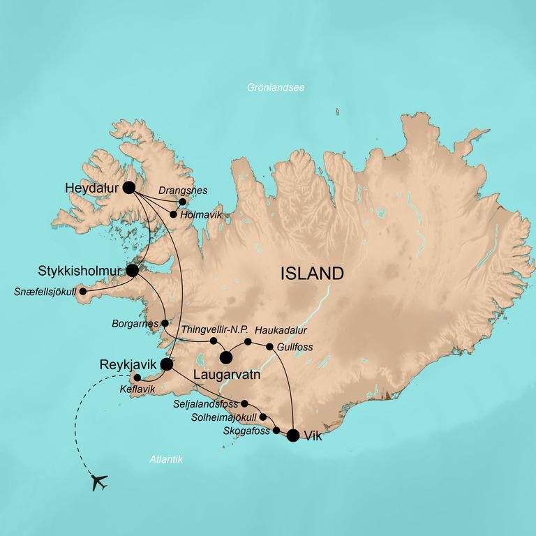 Island – Wintermärchen