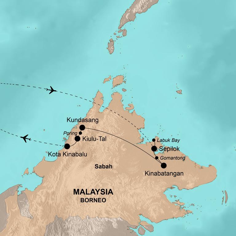 Malaysia Family – Tierisches Abenteuer Borneo