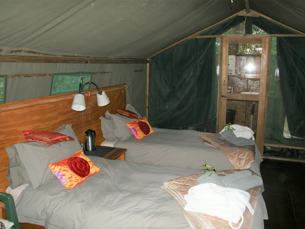 Nguma Island Lodge *** am Okavango-Fluss/West-Delta