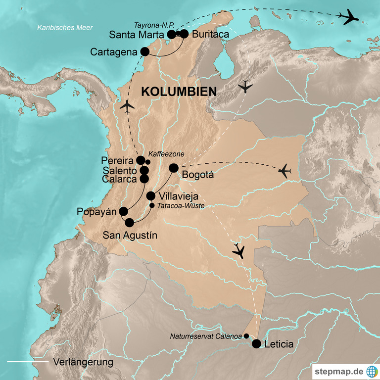 Kolumbien  – Der Geheimtipp Südamerikas