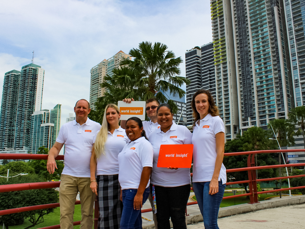 Unser Team in Panama Stadt
