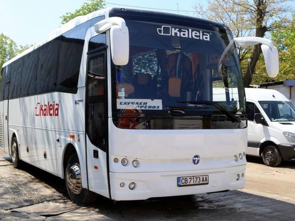 Beispiel für einen Reisebus (für Gruppen ab 15 Personen)
