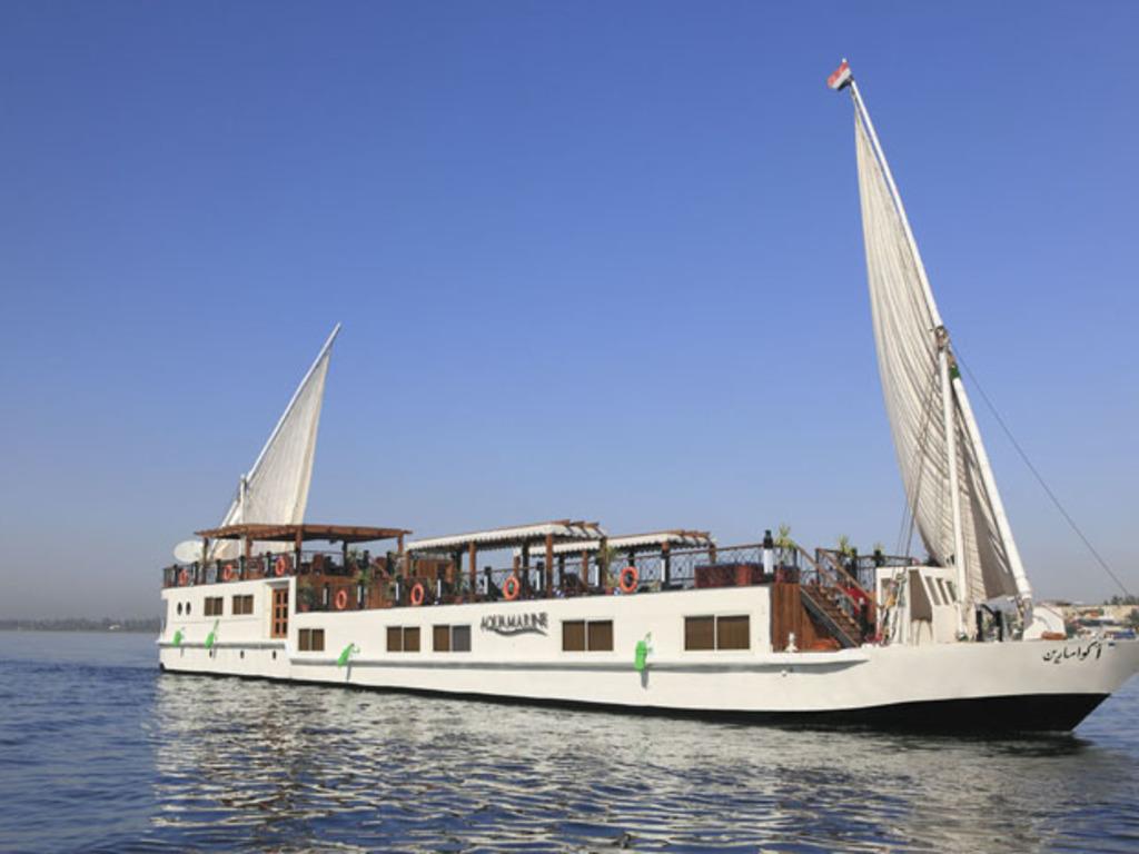 Merit Dahabiya auf dem Nil
