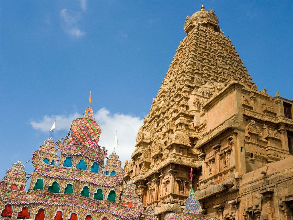 Trichy – Kumbakonam – Tanjore: Rock Fort, Srirangam, Kumbakonam und Darasuram