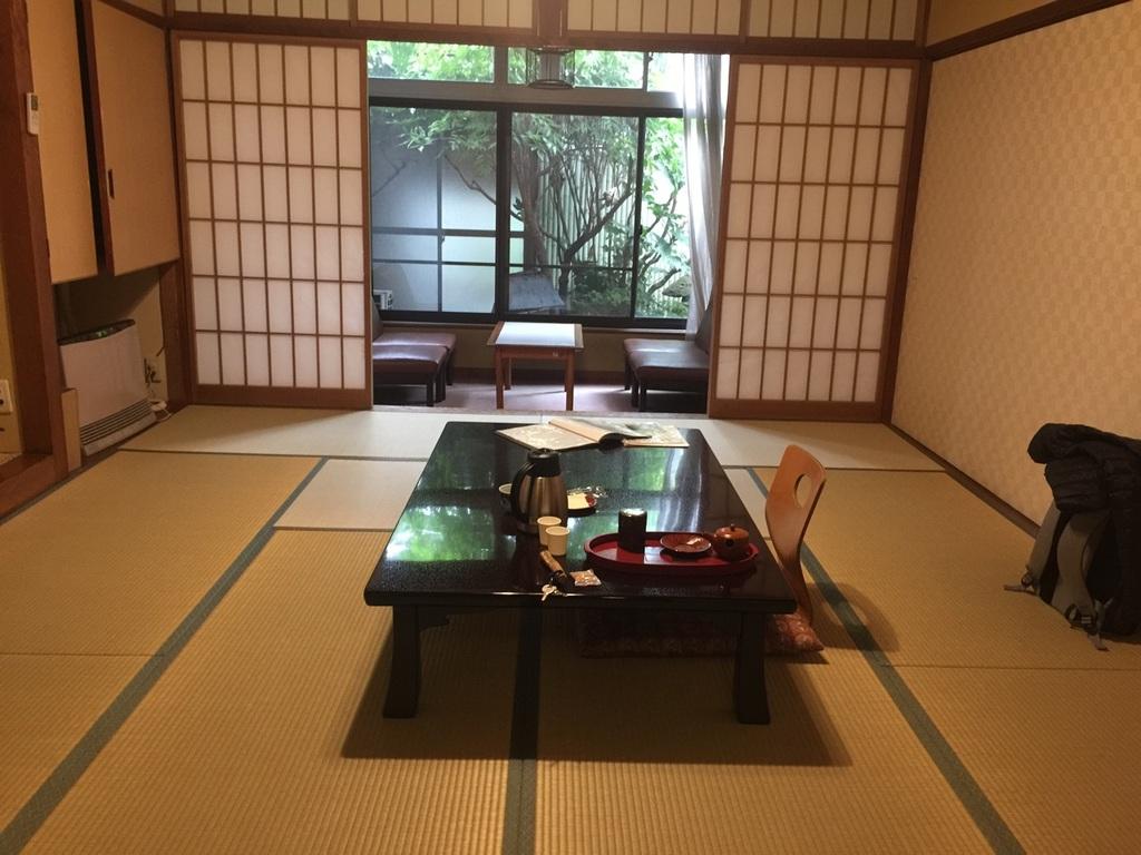 Mehrbettzimmer im Kamesei Ryokan *** in Togura