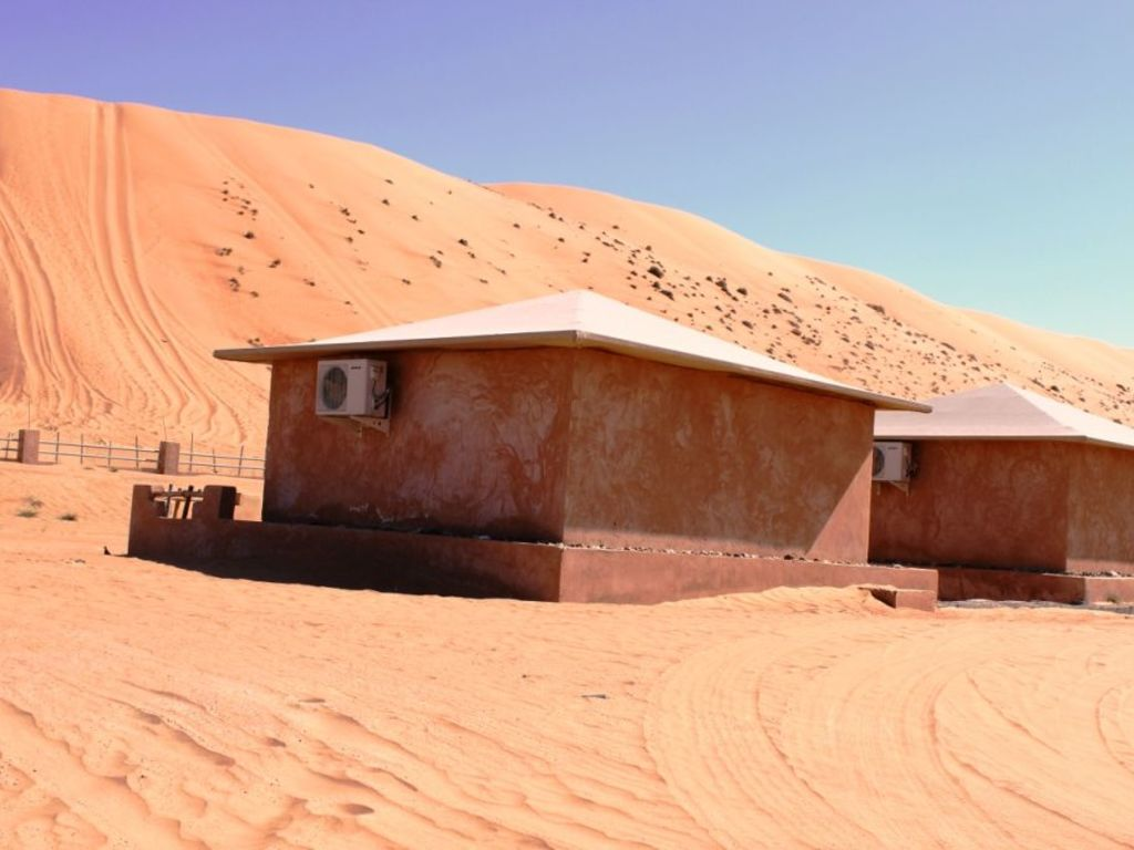 Arabian Oryx Camp   in den Wahiba Sands