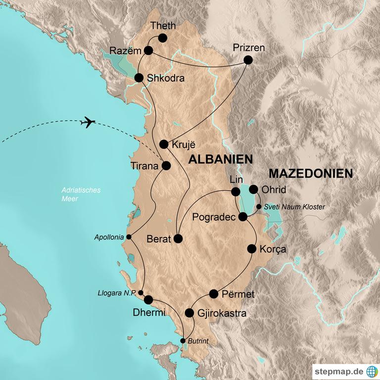 Albanien mit Kosovo und Nordmazedonien – Balkan für Genießer