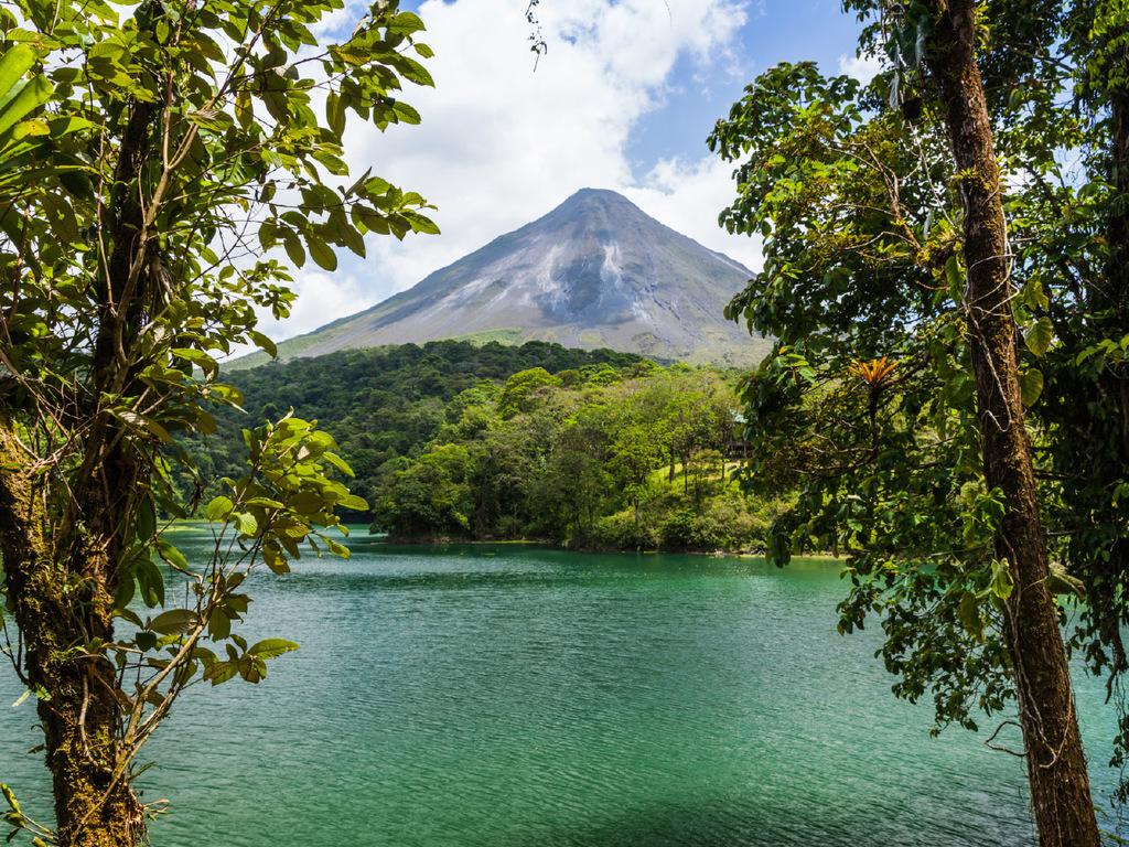 Arenal-Vulkan : Wanderung im Hängebrückenpark, Besuch des Bauernhauses Arenal Vida Campesina