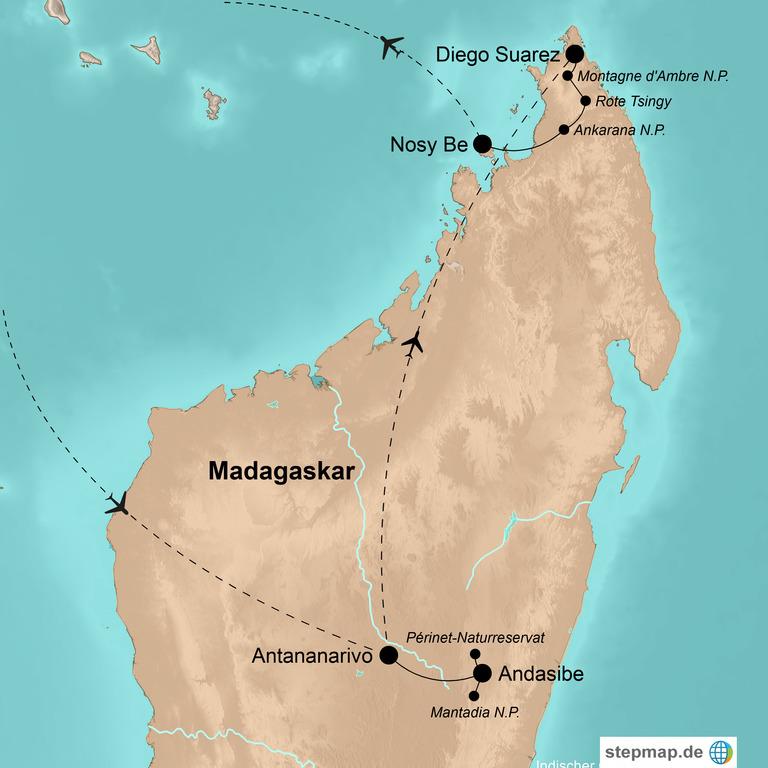 Madagaskar – Wilder Norden, traumhafte Strände