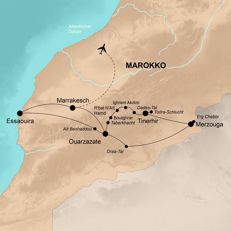Marokko – Die Welt der Berber, des Atlas und der Wüste