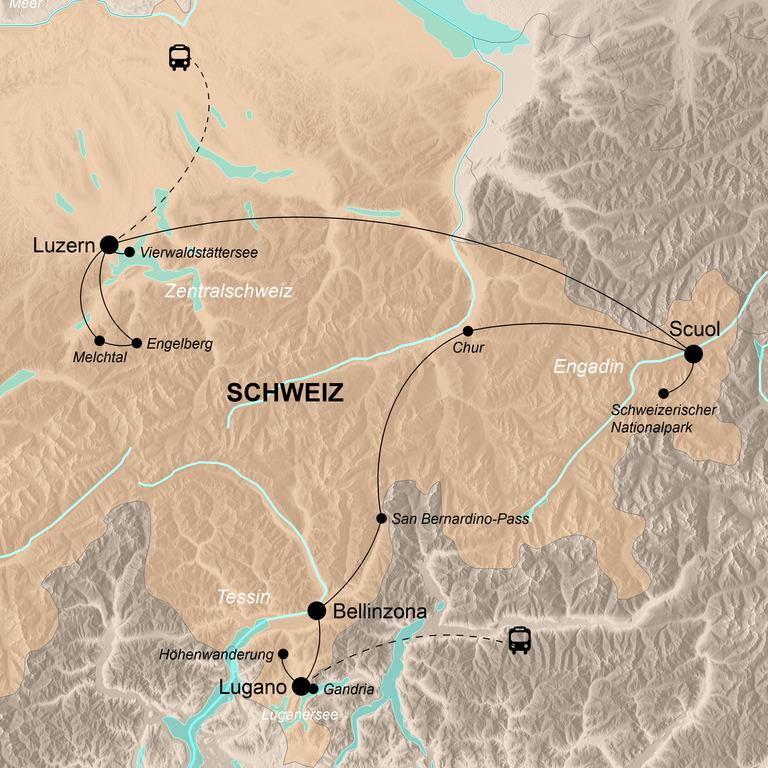 Schweiz – Alpenrepublik hautnah