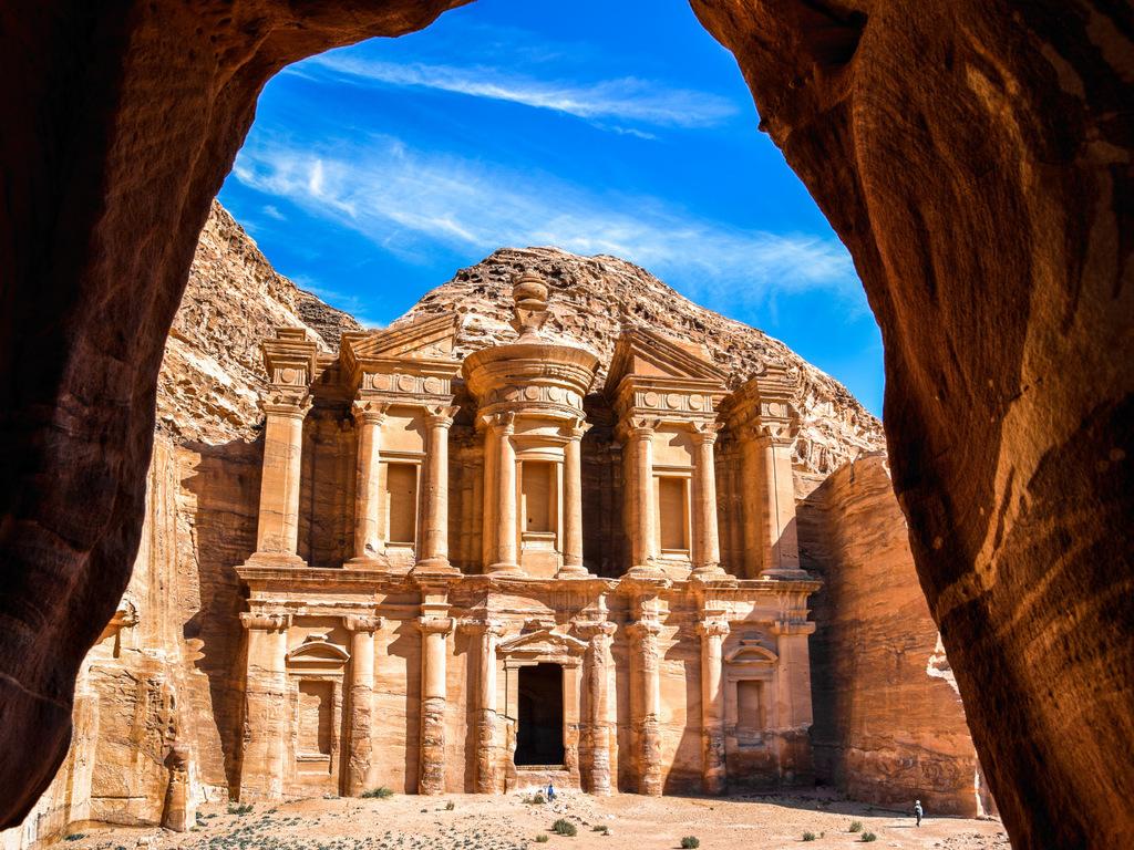 Petra/ Wadi Musa: Ausführliche Besichtigung Petra mit Aufstieg zum Kloster