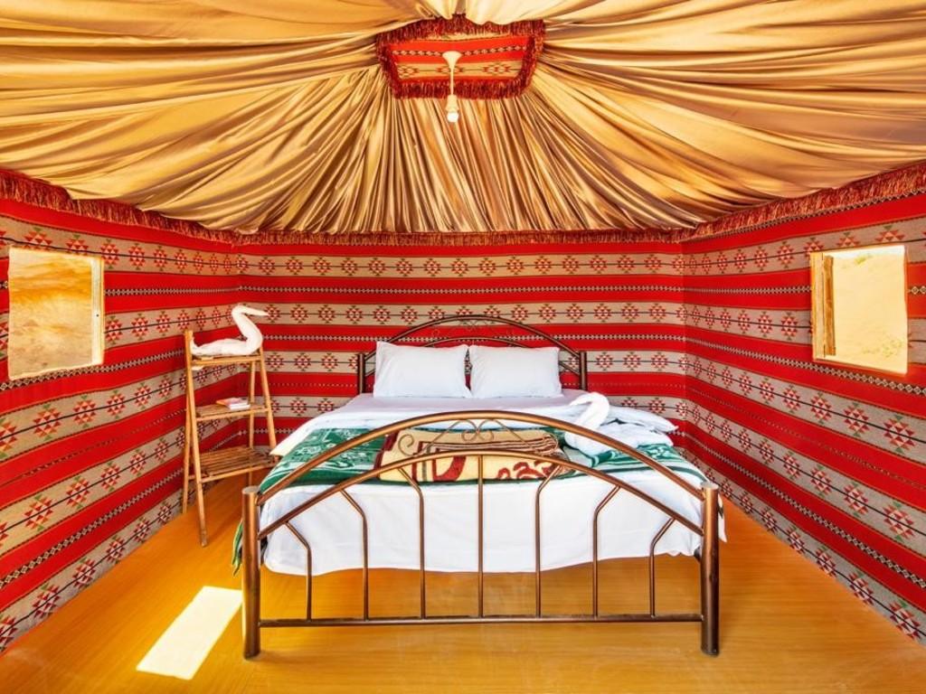 Beduinen-Camp Mohamed Mutlak   in Nationalpark Wadi Rum