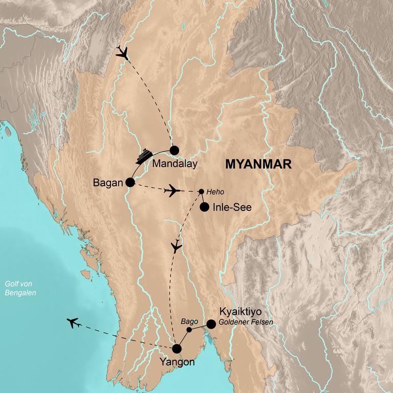 Myanmar – Goldene Momente