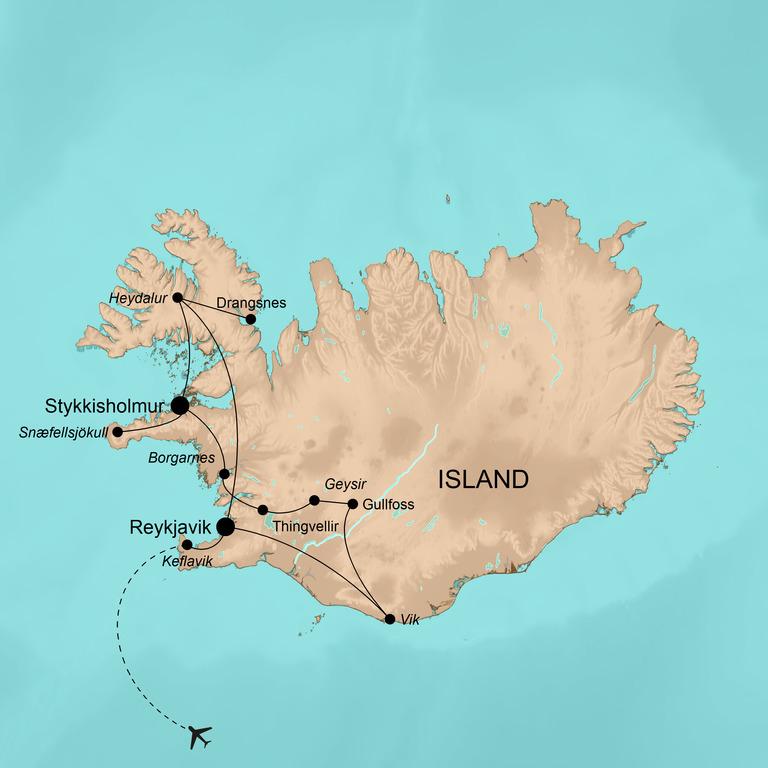 Island – Wintermärchen in der Arktis
