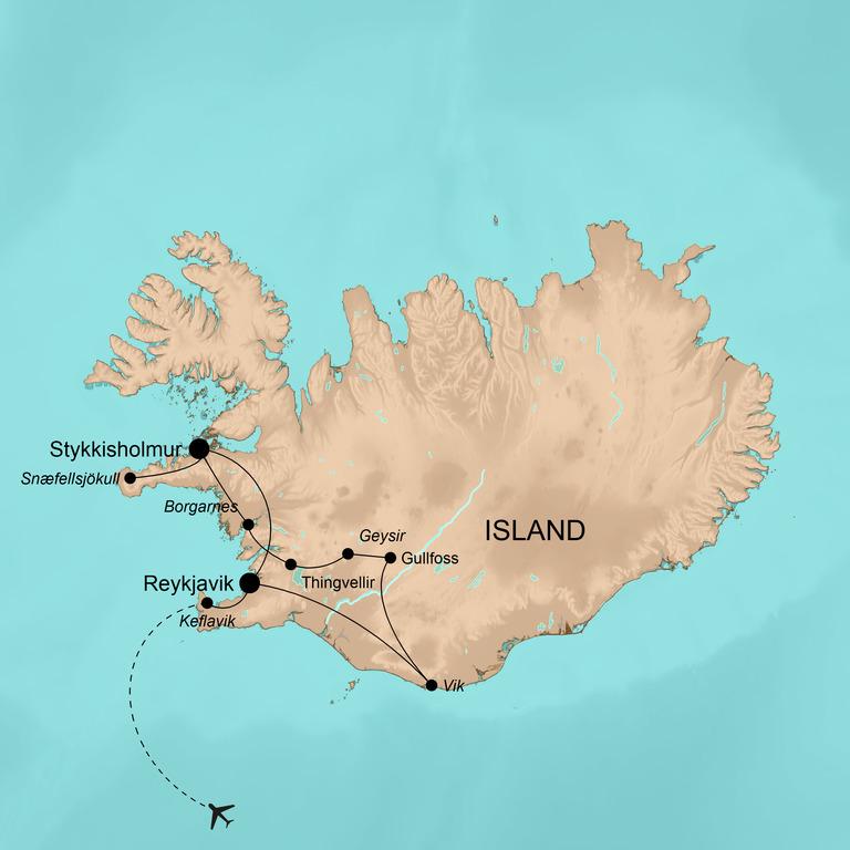 Island – Herbstfarben im goldenen Südwesten