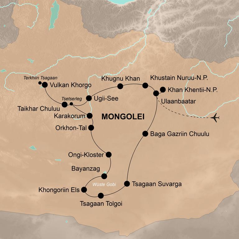 Mongolei – Im Reich des Dschingis Khan