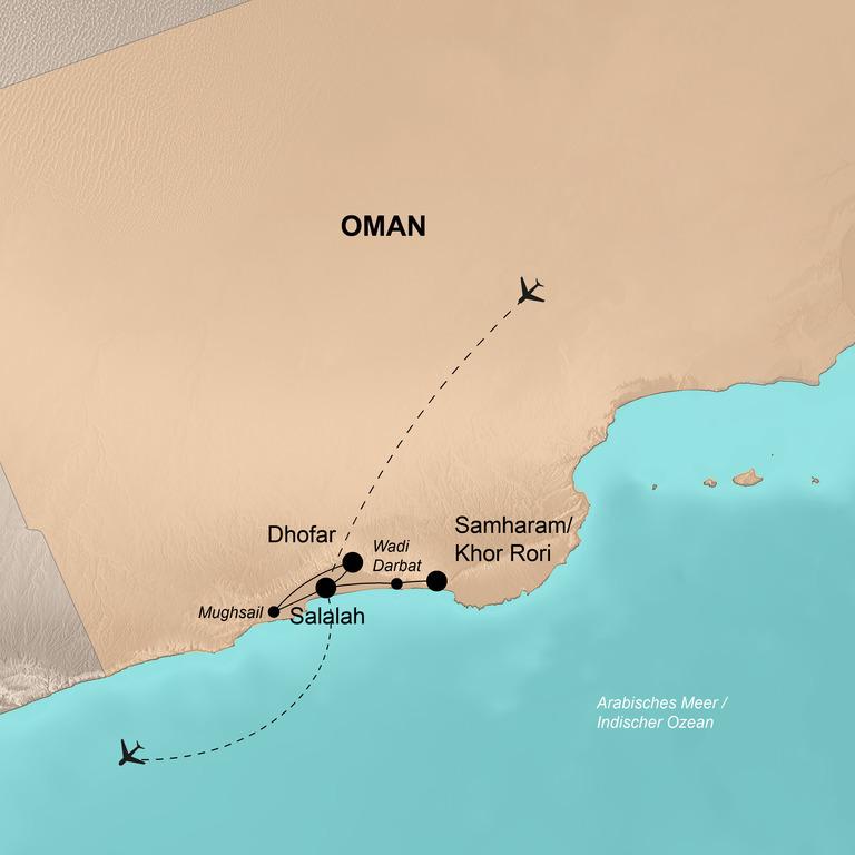 Oman  – Ein Märchen aus 1.001 Nacht
