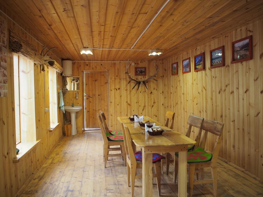 einfaches Gästehaus in Tschong Chemin