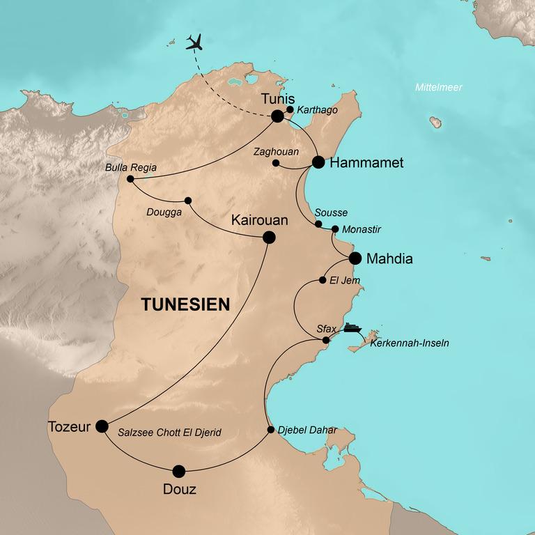 Tunesien – Perle Nordafrikas