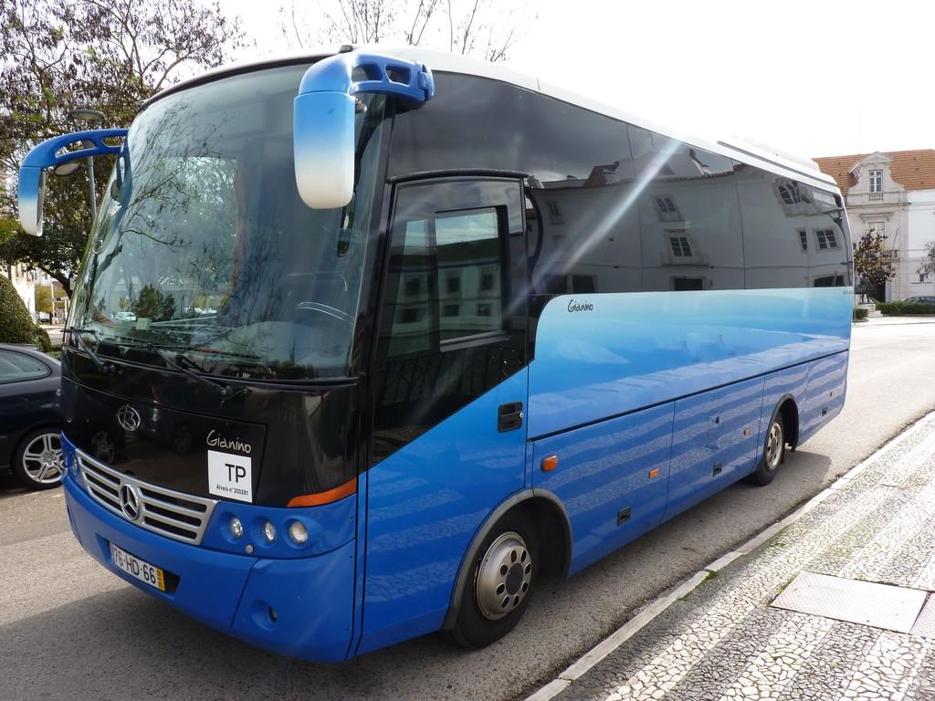Einer unserer Minibusse in Portugal für größere Gruppen