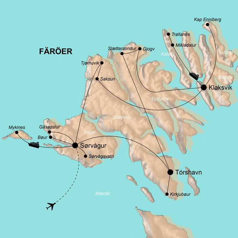 Färöer – Auszeit im Hohen Norden