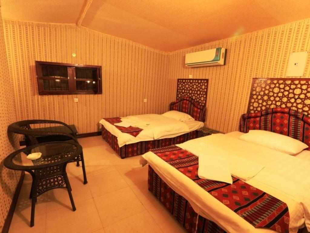 Arabian Oryx Camp   in den Wahiba Sands
