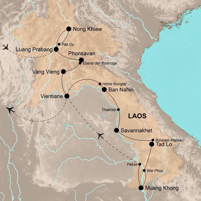 Laos – Die Magie der Leichtigkeit