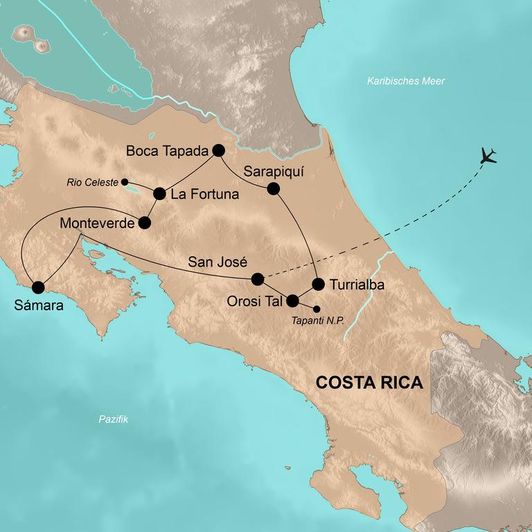 Costa Rica mit dem E-Bike – Tropentraum per E-Bike