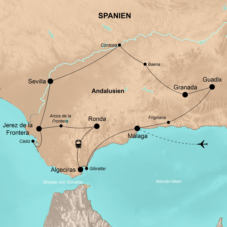Spanien: Andalusien – Der feurige Süden