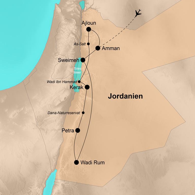 Jordanien – Weite, Wüste, Abenteuer