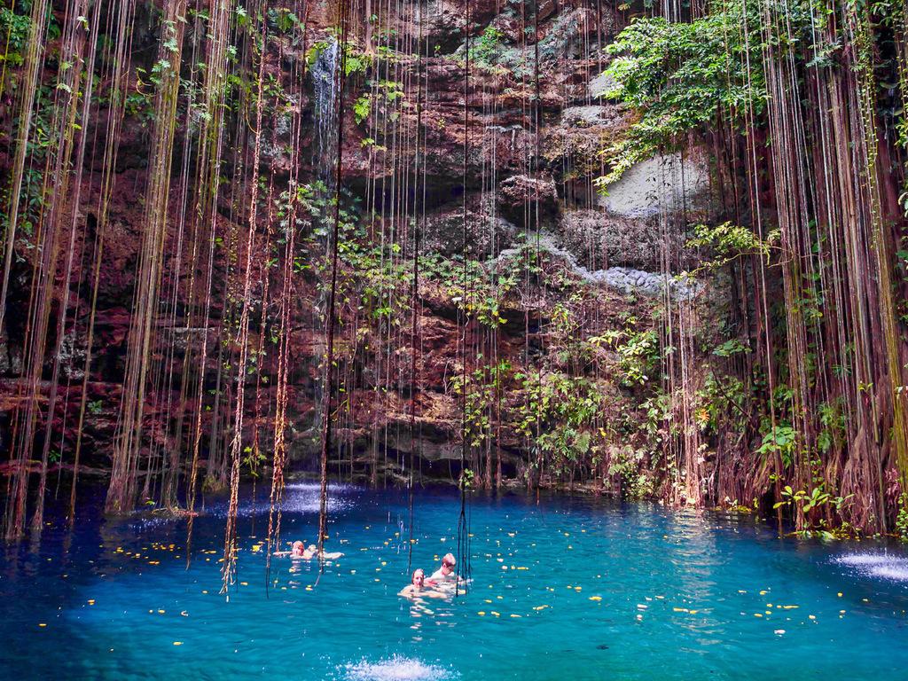 Bacalar : Bootsfahrt über die Lagune der sieben Farben