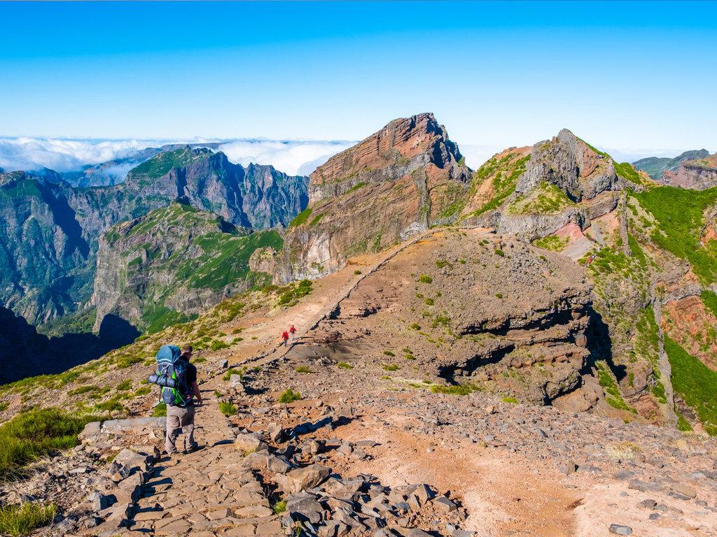 Santana – Encumeada Pass – Funchal: Tageswanderung von Achado do Teixeira bis zum Encumeada Pass